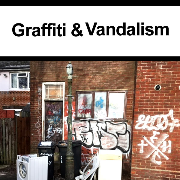 What to do if experiencing Vandalism and Graffiti