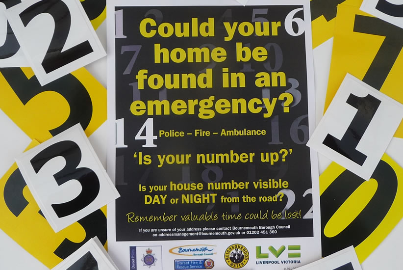 Is Your Number Up? Is a joint NBCPP/NW partnership project supported by Bournemouth Borrough Council, Dorset Fire & Rescue, Dorset Police, SW Ambulance Service.