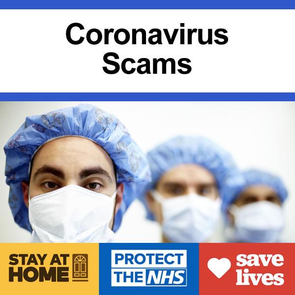 Coronaviruis Scams informaton