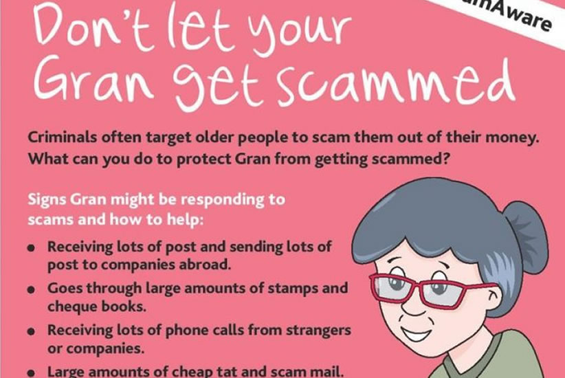 dont let you gran get scammed
